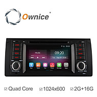 "In-Dash For BMW E39 E59 5 Series Car DVD Player with Quad Core Pure Android 4.4.2 7"" 1024*600 2G RAM 16GB ROM"