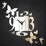Круглый Модерн / Повседневный / Офисный Настенные часы,Праздник / Домики / Духовное развитие / Свадьба / Семья / Школа/выпускной / Друзья
