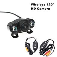 RenEPai® Wireless 120°HD 2LED Waterproof Night Vision Car Rear View Camera for 420 TV Lines NTSC / PAL 12V