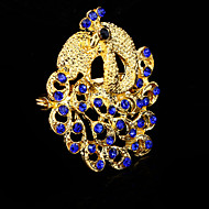 Women's Crystal Peacock AnImal Brooch for Wedding Party Decoration Scarf ,Fine Jewelry,Random Color