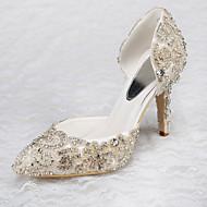 Scarpe da sposa-Scarpe col tacco-Tacchi-Matrimonio / Formale / Serata e festa-Bianco-Da donna
