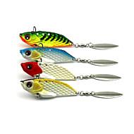 4Pieces Hengjia Metal VIB Baits/Vibration  20g 60mm Fishing Lures Random Colors