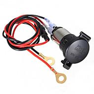 12v 120w auto motorfiets aansteker stopcontact 60cm cord