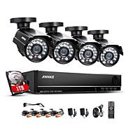 annke 8 canales hdmi 960H dvr cctv 800tvl al aire libre sistema de cámaras de seguridad en el hogar del hd