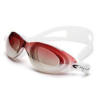 Óculos de Natação Anti-Nevoeiro Tamanho Ajustável Proteção UV Lente Polarizada Prova-de-Água Gel Silica PC Preto Azul verde claroPreto