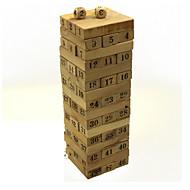houten nummerblokken puzzelgames domino bordspellen hersenen spellen