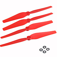 6 farve / 24 stk knive propeller reservedele til SYMA x8c x8w x8g rc quadrokopter drone (seks farver)