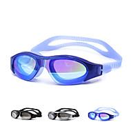 Zwembrillen Unisex Waterdicht Silicagel PC Wit / Zwart / Blauw Zilver / Groen / Zwart / Blauw / Goud