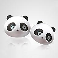 ziqiao 1 Paar schöne Panda Geschmack Auto Lufterfrischer Diffusorauslassöffnung Magie liefert Parfüm