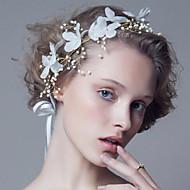 Fashion Wedding Party Women Bride Pearls Flowers Headbands