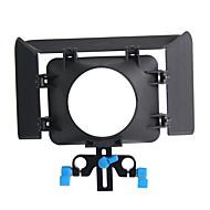 yelangu® yelangu kamera sort matte box lavet af abs til digital kamera
