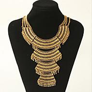 MPL Retro fashion exaggerated Coin Necklace