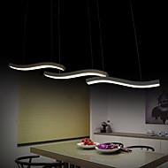 волнистый дизайн 40w водить моды простые акриловые подвесные светильники гостиная / спальня / столовая / рабочий кабинет / офис