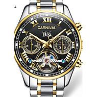 Carnival® watch hollow multifunctional automatic flywheel mechanical watch luminous men watch Cool Watch Unique Watch