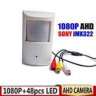 1080p ahd camera night vision camera 0,0001 lage lux PIR bewegingsdetector vorm CCTV camera