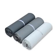 basekey 100 stk poly pose kurer forsendelse parcel plast skoletaske mailer indlæg sæl 170x300mm tilfældig farve