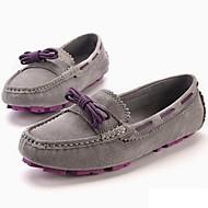 Kényelmes-Lapos-Női-Vitorlás cipők-Irodai Party és Estélyi Ruha Alkalmi Sportos-Nappa Leather-