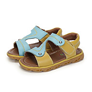 Boys' Shoes Outdoor / Athletic / Casual Leather Sandals Blue / Navy / Orange