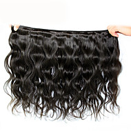 3Pcs/ Lot Peruvian Body Wave Hair Wefts Mix Length 8-30 Inches 60g/pcs Virgin Human Hair Extensions #1B Color