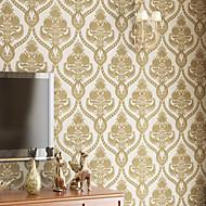 Contemporary Wallpaper Art Deco 3D Damascus Wallpaper Wall Covering Non-woven Fabric Wall Art