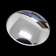 ziqiao 1 pcs carro espelho retrovisor espelho redondo pequeno grande ângulo ajustável superfície convexa visual, com base rotativa