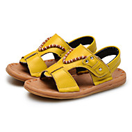 Baby Shoes Wedding / Outdoor / Dress / Casual Leather Sandals Black / Yellow / White