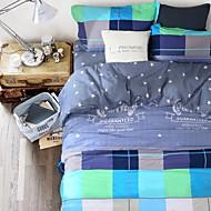 confortável cama de moda conjuntos de cobertura série 4pc edredão, queen size