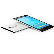 "JACKLEO JACKLEO Goldeneye JL512 5.0 "" Android 4.4 3G smartphone ( Dobbelt SIM Quad Core 0.8 MP 1GB + 8 GB Sort / Hvid )"