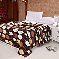Little Sheep High-end Green Environmental Protection Printing And Dyeing Method, Wool Blanket Full Size