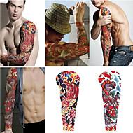 2 ark ekstra store midlertidige tatoveringer, full arm