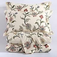 Květinový Bavlna 4 kusy Povlečení