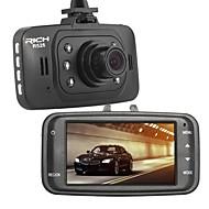 """Rich 2.7"""" 120°Full Hd Car Auto Dash Camera Video Dvr Recorder"""