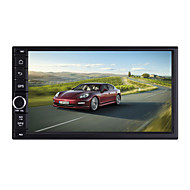 Quad Core 7 Inch 1024*600 2 Din Android 4.4 Car Radio Audio Stereo with GPS Navigation WIFI Bluetooth