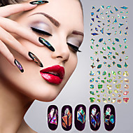 1Pcs The Aew Star 3D Nail Decals Paper Cellophane Strap Stickers(24 style can be selected)