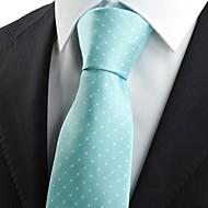 עניבה-מנוקד(כחול,סריגה)
