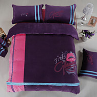 Novelty Flannel 4 Piece Duvet Cover Sets