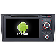 Android 4.4.4 Car DVD Player GPS for AUDI A6 with Quad-Core Contex A9 1.6GHz,Radio,RDS,BT,SWC,Wifi,3G
