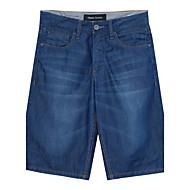 Målere / bonwe Herre Shorts / Jeans Bukser Lysegrøn-255158