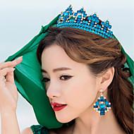 여성 라인석 / 합금 투구-웨딩 / 특별한날 왕관 1개