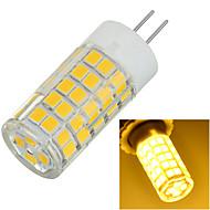 7W G4 LED Bi-pin světla Zápustná 64 SMD 2835 600-700 lm Teplá bílá / Chladná bílá Ozdobné AC 220-240 V 1 ks