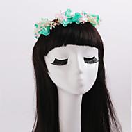 Dame / Blomsterpige Tyll / Imitert Perle / Stoff Headpiece Bryllup / Spesiell Leilighet / Avslappet / Utendørs KranserBryllup / Spesiell
