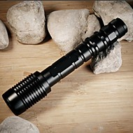 Lights LED Flashlights/Torch LED 4000 Lumens 5 Mode Cree XM-L2 T6 18650Adjustable Focus / Waterproof / Rechargeable / Impact Resistant /