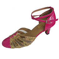 Customized Women's Ballroom Shoes Customized Heel Women's Closed Toe Dance Shoes More Colors