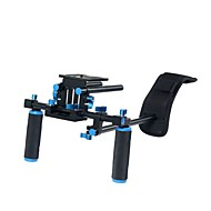 yelangu® multifunctionele afneembare dslr rig schouder dv en dslr camera