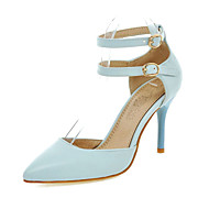 Women's Shoes Stiletto Heels/Pointed Toe Office & Career/Party & Evening/Dress Blue/Pink/White