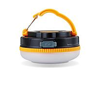 תאורה פנסים ותאורה לאוהל LED 180 Lumens 1 מצב LED USB עמיד למים / ניתן לטעינה מחדש מחנאות/צעידות/טיולי מערות ABS