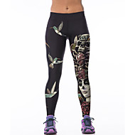달리기 바지 / 하단 여성의 통기성 / 높은 호흡 능력(>15.001g) / 빠른 드라이 / 스트레치 / 압축 엘라스틴 요가 / 운동&피트니스 / 달리기 스포츠 스트래치 단단히실내 / 아웃도어 의류 / 성능 / 프랙티스 / 레저 스포츠 /