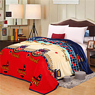 British Fashion High-end Green Environmental Protection Printing And Dyeing Method, Wool Blanket Full Size
