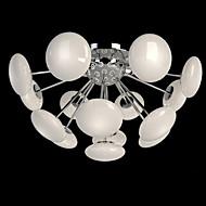 3W Montagem do Fluxo ,  Rústico Galvanizar Característica for LED / Estilo Mini MetalSala de Estar / Quarto / Sala de Jantar / Quarto de
