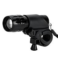 תאורה פנס LED LED 500 Lumens 3 מצב LED AAA מיקוד מתכוונן / עמיד למים / עמיד לחבטות / טקטי / חירום / גודל קטן / קל במיוחד / מתח גבוה